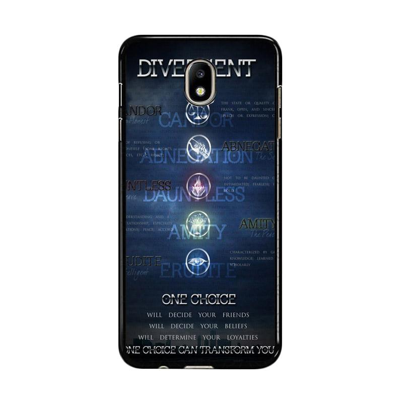 Flazzstore Divergent Faction Symbols Z0694 Custom Casing for Samsung Galaxy J5 Pro 2017