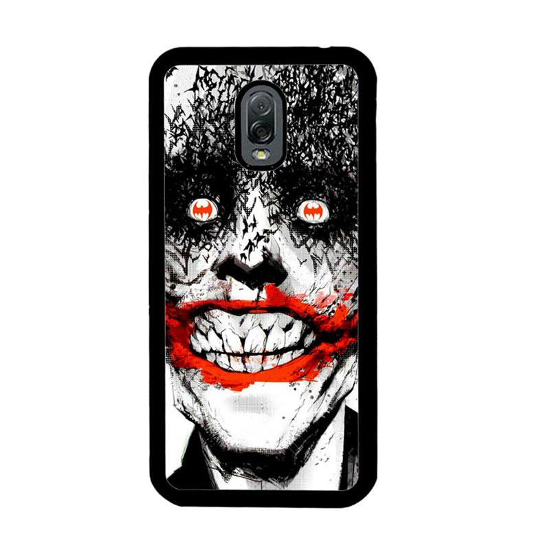 Flazzstore Creepy Smile Face Joker Z0981 Custom Casing for Samsung Galaxy J7 Plus