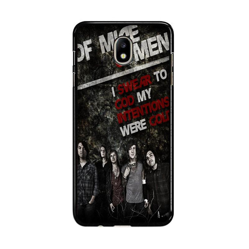 Flazzstore Of Mice And Men Band F0544 Custom Casing for Samsung Galaxy J7 Pro 2017