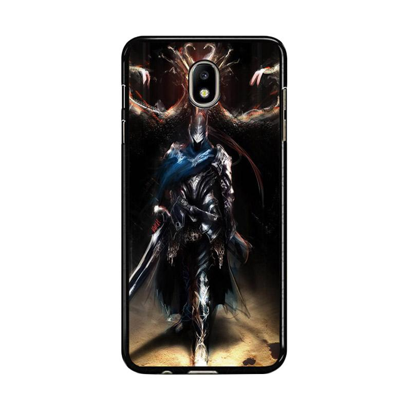 Flazzstore Dark Souls Artorias F0377 Custom Casing for Samsung Galaxy J7 Pro 2017 - Black
