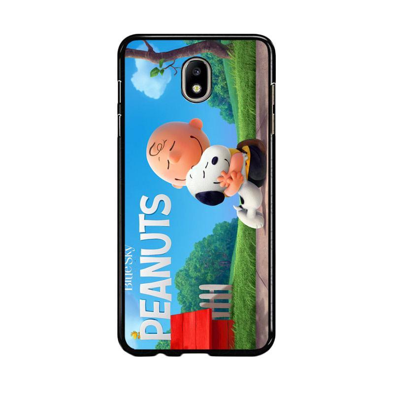 Flazzstore Peanuts Movie Animation Z0283 Custom Casing for Samsung Galaxy J7 Pro 2017
