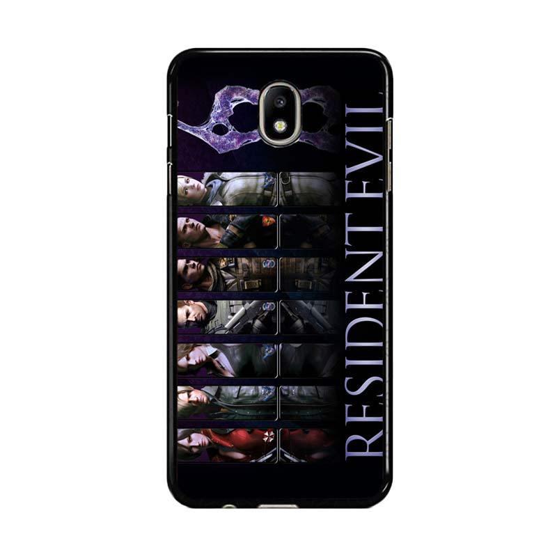 Flazzstore Resident Evil 6 Z0332 Custom Casing for Samsung Galaxy J7 Pro 2017