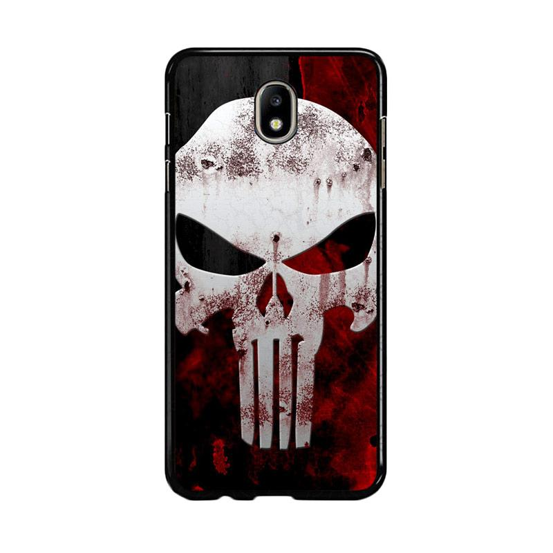 Flazzstore Marvel Superhero Punisher Logo Z0505 Custom Casing for Samsung Galaxy J5 Pro 2017