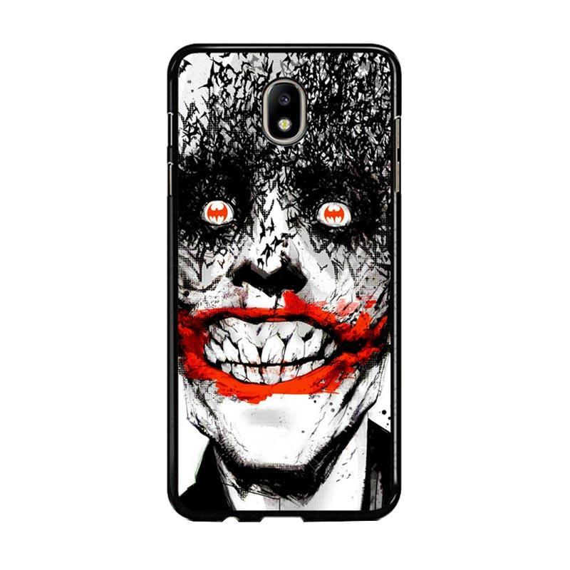 Flazzstore Creepy Smile Face Joker Z0981 Custom Casing for Samsung Galaxy J7 Pro 2017