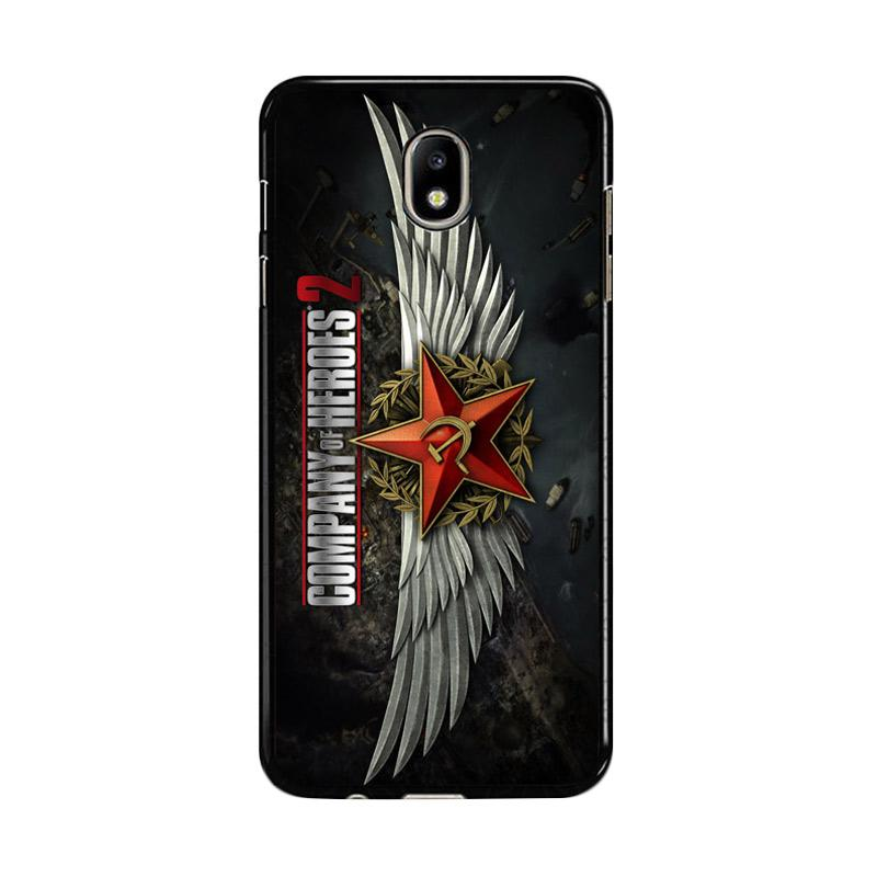 Flazzstore Company Of Heroes Video Game Z1027 Custom Casing for Samsung Galaxy J5 Pro 2017 - Black