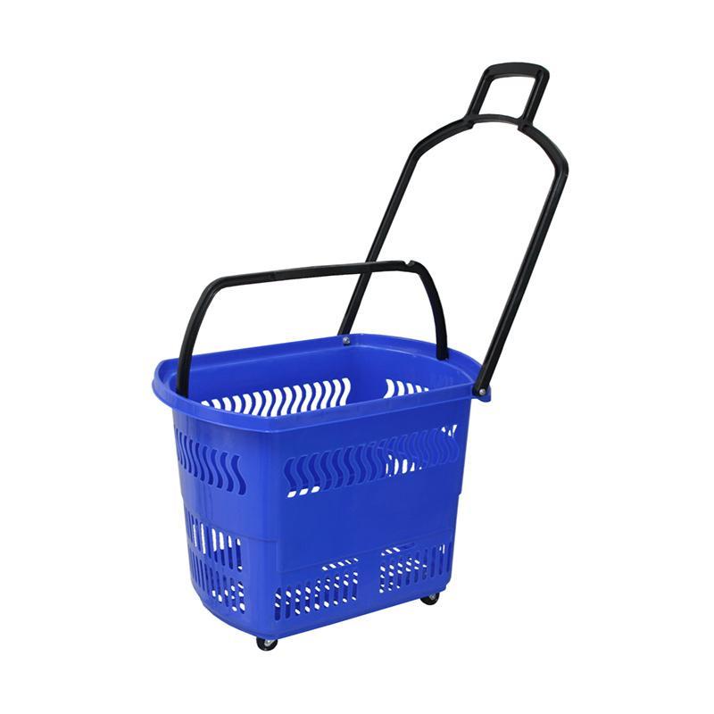 Rovega BAS-01 Trolley Basket - Biru