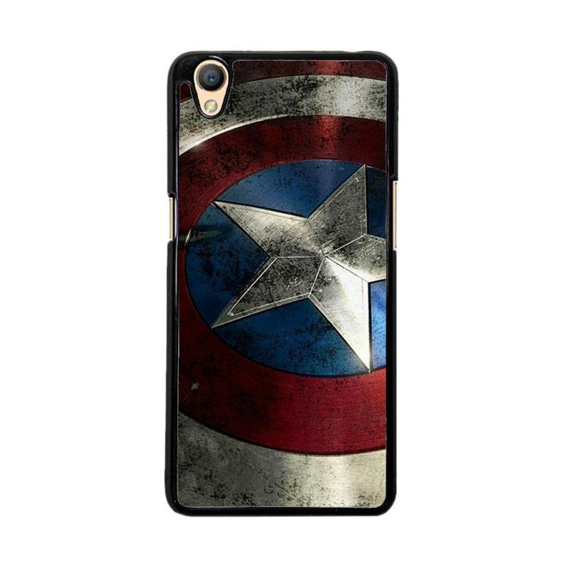 Flazzstore Captain America-0001 O0169 Custom Casing for Oppo Neo 9 A37