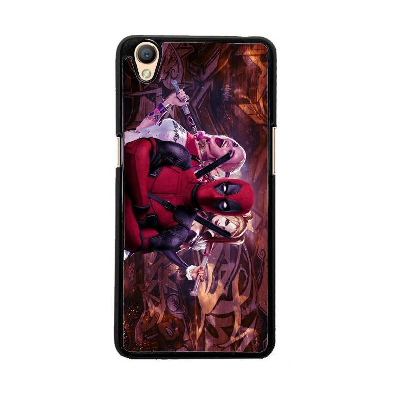 Flazzstore Harley Quinn and Deadpool O0692 Custom Casing for Oppo Neo 9 A37