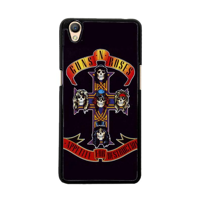 Flazzstore Rock Bands Guns N Roses F0216 Custom Casing for Oppo Neo 9 A37