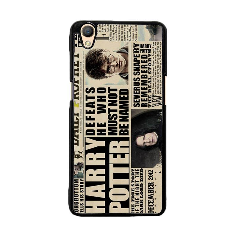 Flazzstore December 2012 Harry Potter Daily Prophet F0163 Custom Casing for Oppo Neo 9 or Oppo A37