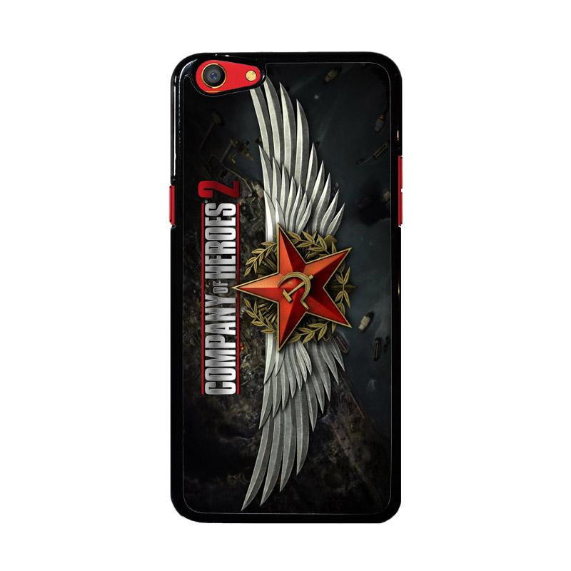 Flazzstore Company Of Heroes Video Game Z1027 Custom Casing for Oppo F3