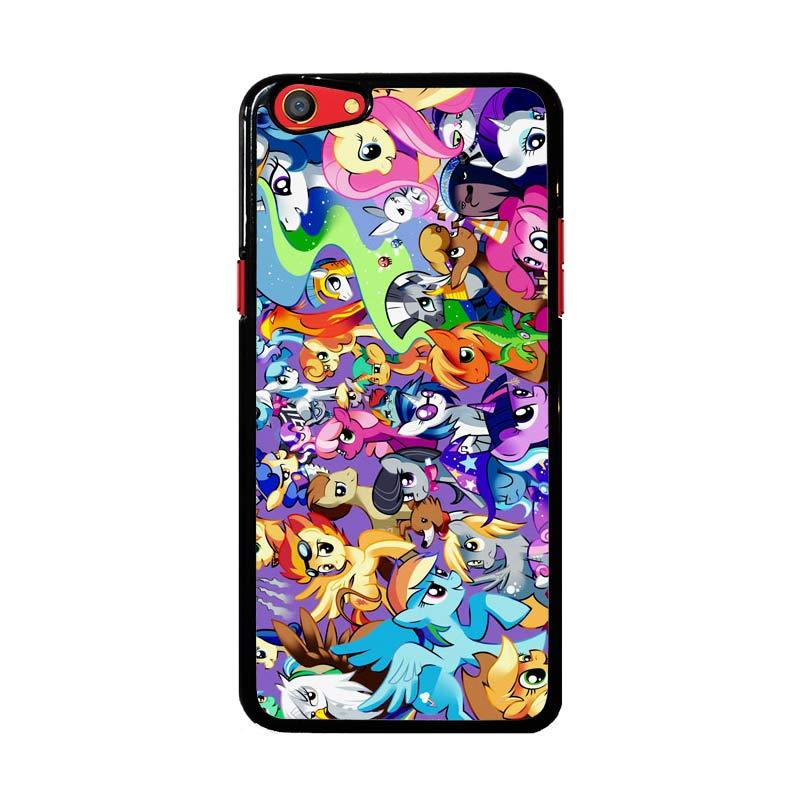 Flazzstore My Little Pony Collage Z1359 Custom Casing for Oppo F3