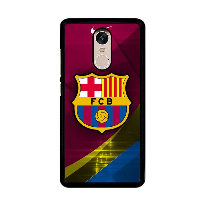 Flazzstore FC Barcelona Nike O0444 Custom Casing for Xiaomi Redmi Note 4 or Note 4X Snapdragon Mediatek