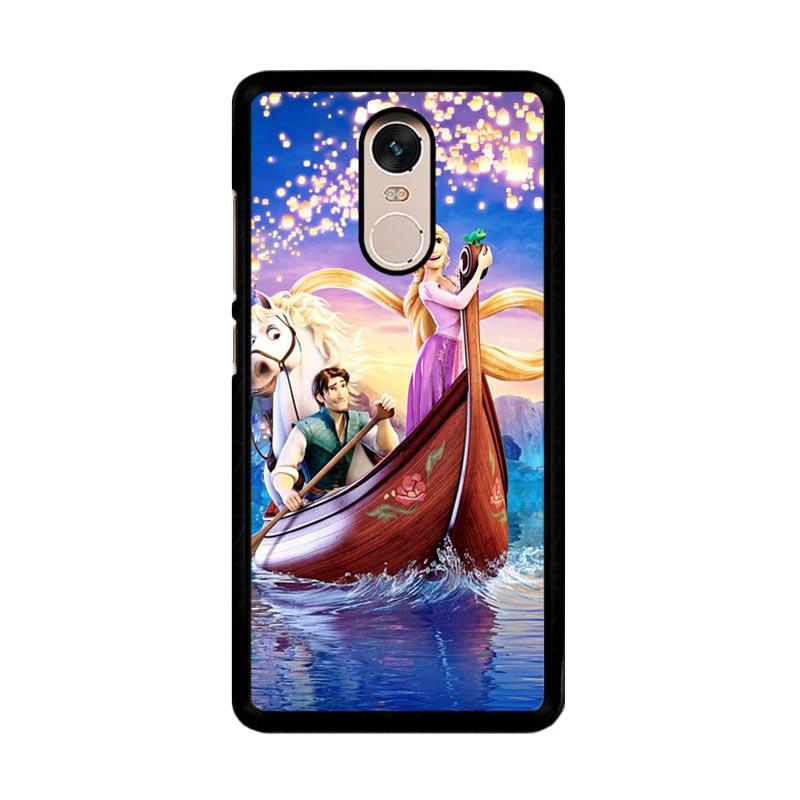 Flazzstore Disney Rapunzel Cover Book Z0075 Custom Casing for Xiaomi Redmi Note 4 or Note 4X Snapdragon Mediatek