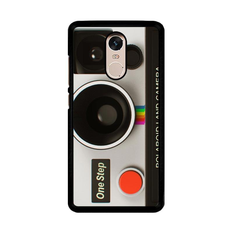 Flazzstore Vintage Polaroid Camera Z0076 Custom Casing for Xiaomi Redmi Note 4 or Note 4X Snapdragon Mediatek
