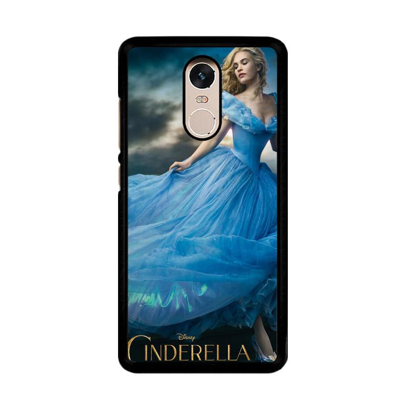 Flazzstore Cinderella 2015 Z0127 Custom Casing for Xiaomi Redmi Note 4 or Note 4X Snapdragon Mediatek