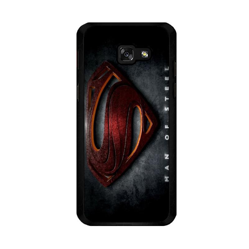 Flazzstore Man Of Steel F0537 Custom Casing for Samsung Galaxy A5 2017
