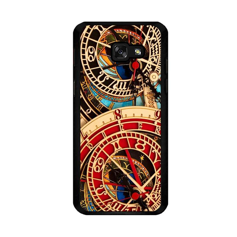 Flazzstore Astronomical Clock Vintage Classic F0332 Custom Casing for Samsung Galaxy A5 2017