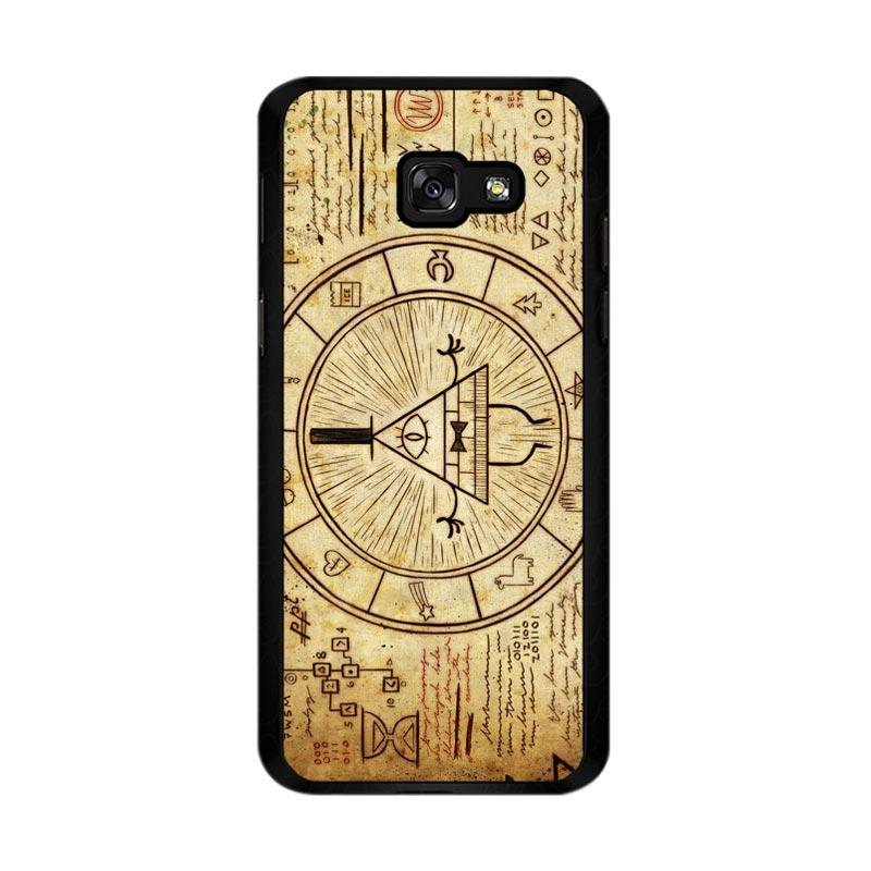 Flazzstore Gravity Falls Bill Z0187 Custom Casing for Samsung Galaxy A5 2017