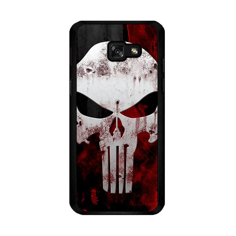 Flazzstore Marvel Superhero Punisher  Logo Z0505 Custom Casing for Samsung Galaxy A5 2017
