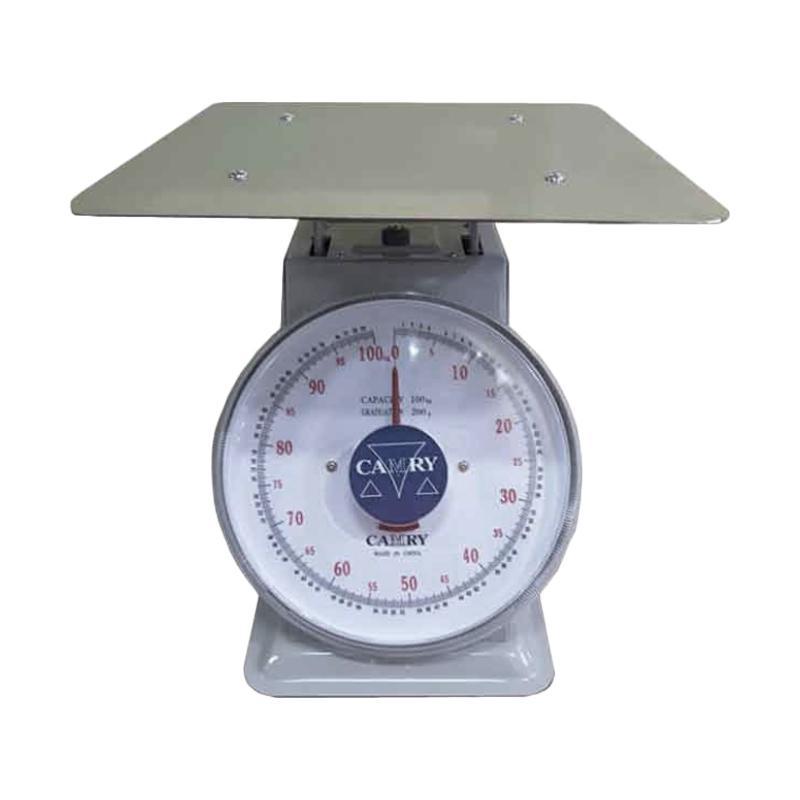 Camry Dial Spring Timbangan Duduk Manual [100 Kg]