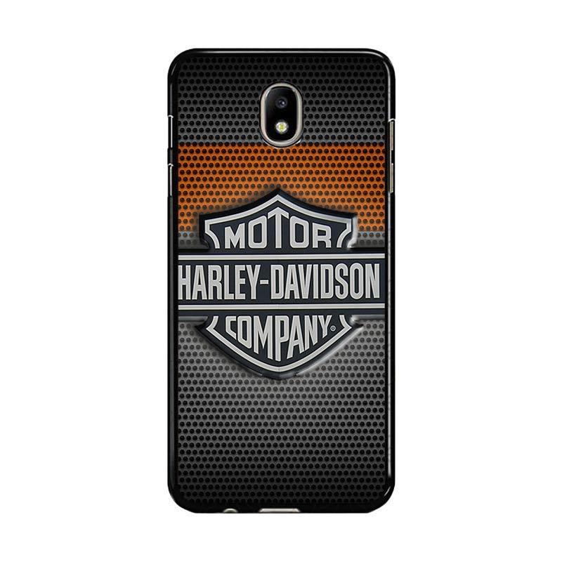 Flazzstore Motor Harley Davidson Logo Z4053 Custom Casing For Bawah