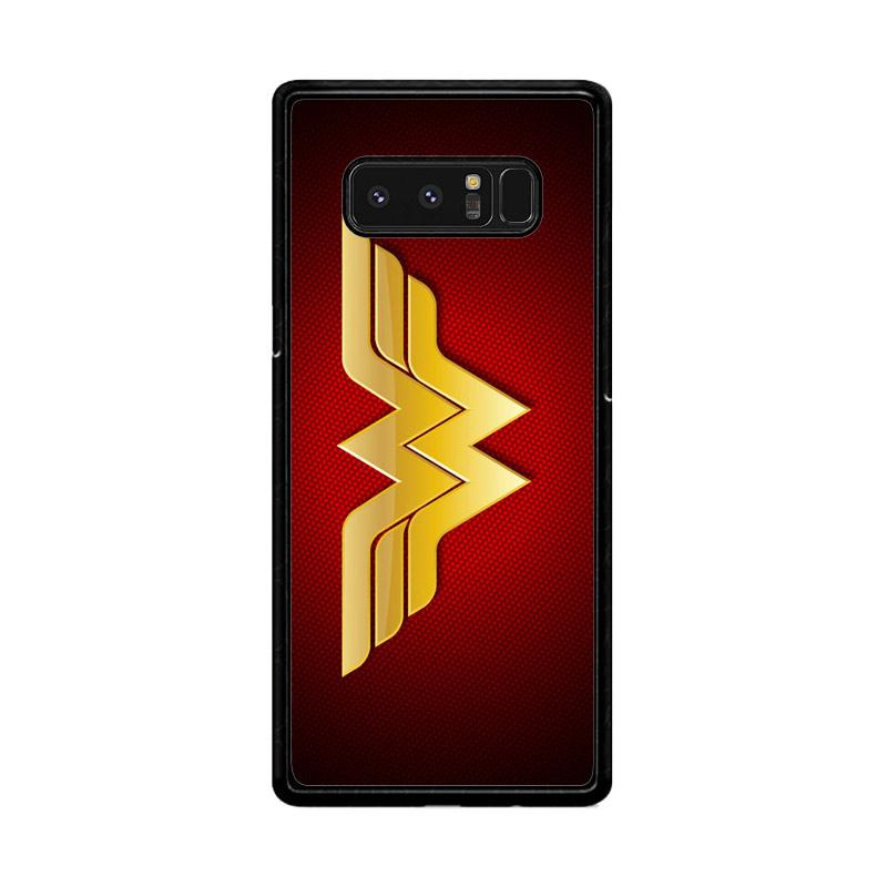 Flazzstore Wonder Woman Logo F0248 Custom Casing for Samsung Galaxy Note8