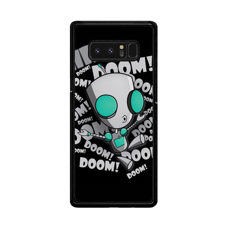 Flazzstore Invader Zim Gir Doom Song Z0621 Custom Casing for Samsung Galaxy Note8