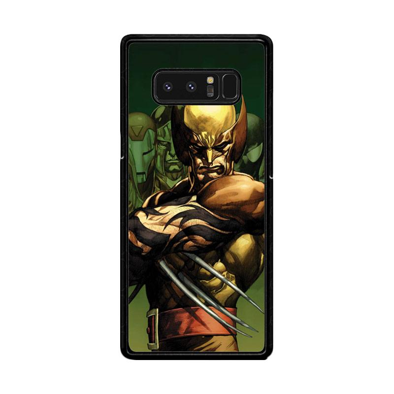 Flazzstore Dark Wolverine X-Man And Friend F0376 Custom Casing for Samsung Galaxy Note 8