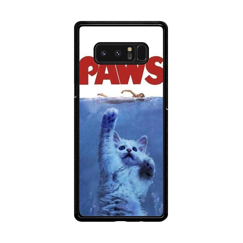Flazzstore Paws Ovie Parody Funny Cat Attack F0586 Custom Casing for Samsung Galaxy Note8