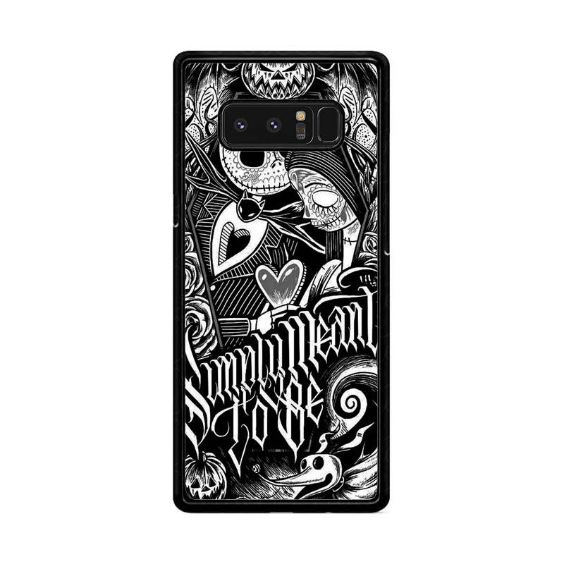Flazzstore Jack And Sally Muertitos The Nightmare Before Christmas F0874 Custom Casing for Samsung Galaxy Note 8