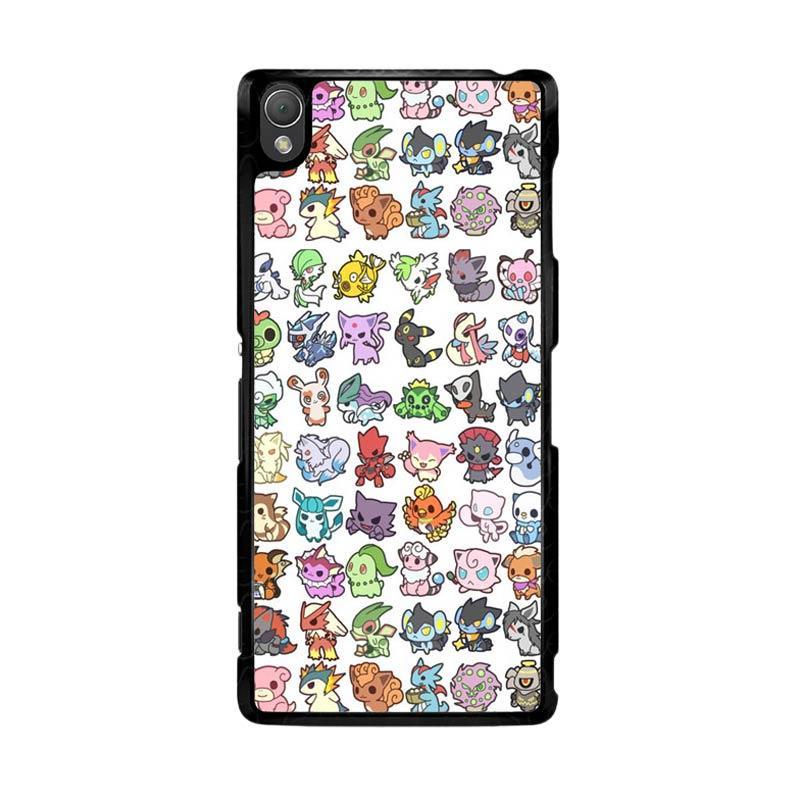 Flazzstore Pattern Pokemon O0061 Custom Casing for Sony Xperia Z3