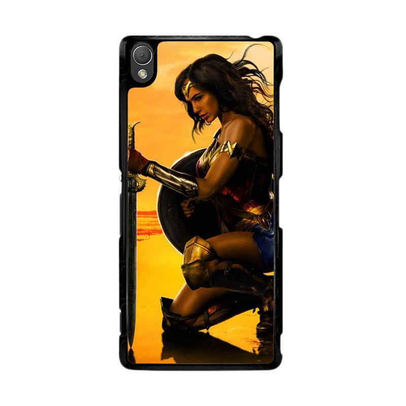 Flazzstore Wonder Woman O0689 Custom Casing for Sony Xperia Z3