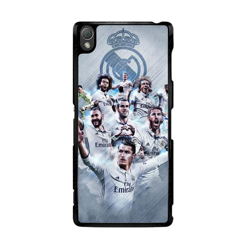 Flazzstore Real Madrid Team O1019 Custom Casing for Sony Xperia Z3