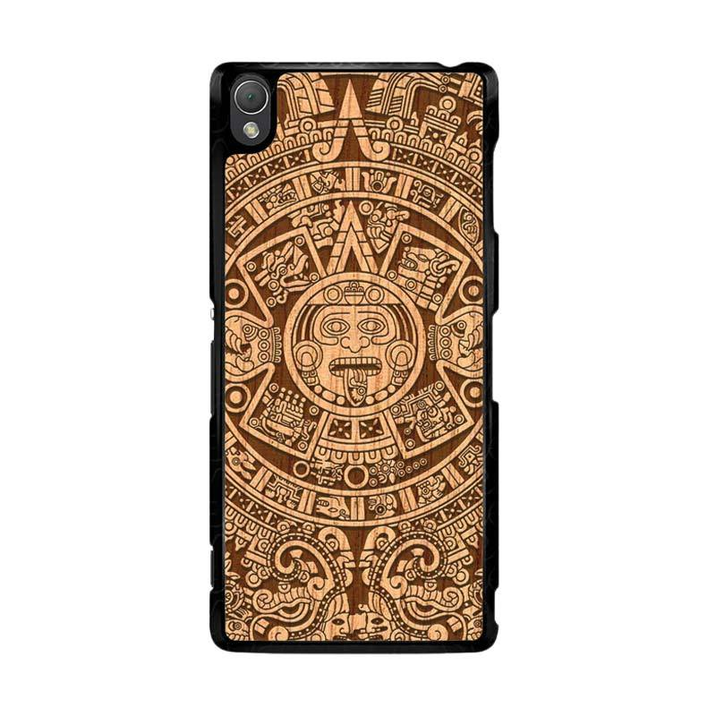 Flazzstore Mayan Calender F0202 Custom Casing for Sony Xperia Z3