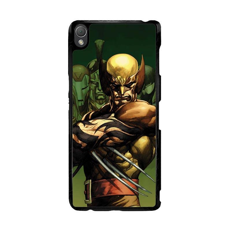 Flazzstore Dark Wolverine X-Man And Friend F0376 Custom Casing for Sony Xperia Z3