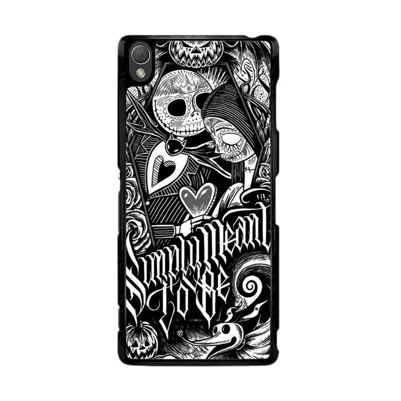 Flazzstore Jack And Sally Muertitos The Nightmare Before Christmas F0874 Custom Casing for Sony Xperia Z3