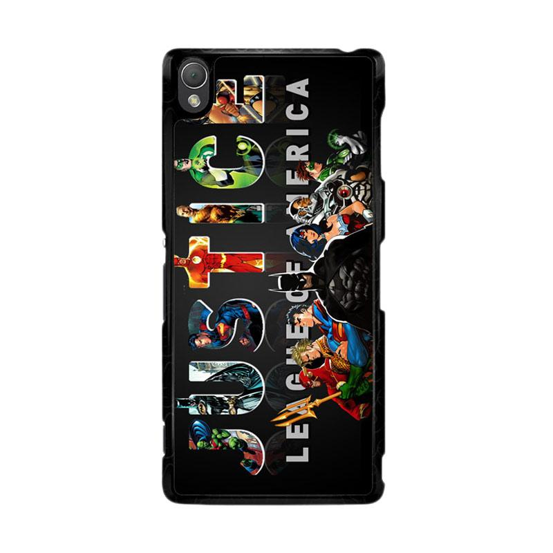 Flazzstore Justice League Z0031 Custom Casing for Sony Xperia Z3