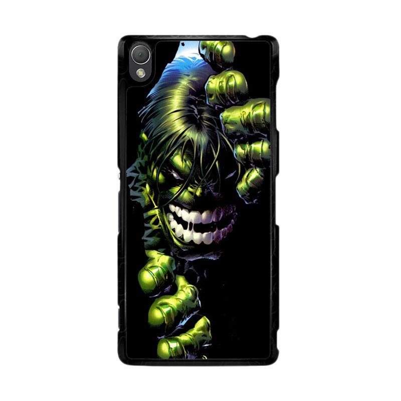 Flazzstore Superheroes The Incredible Hulk Z0047 Custom Casing for Sony Xperia Z3