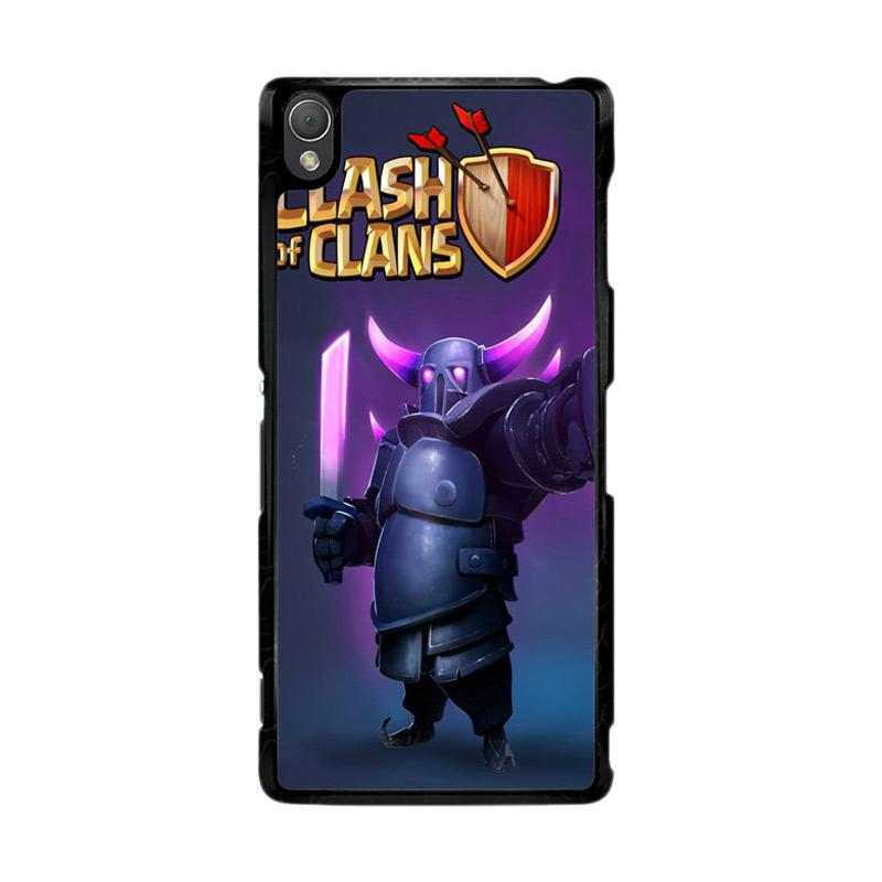 Flazzstore Clash Of Clans Pekka Z0236 Custom Casing for Sony Xperia Z3