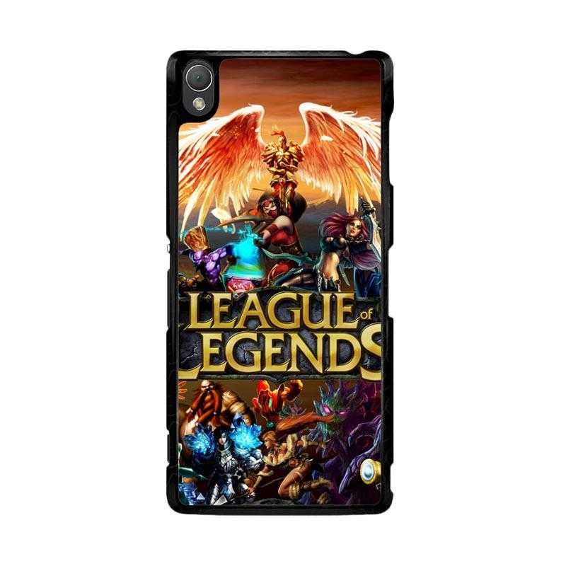 Flazzstore League of Legends Cover Z0281 Custom Casing for Sony Xperia Z3