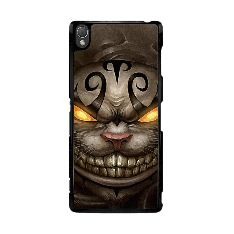 Flazzstore Alice Madness Returns Cheshire Cat Z0999 Custom Casing for Sony Xperia Z3