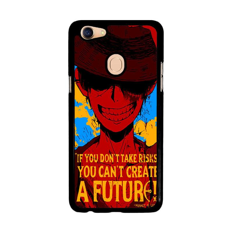 Flazzstore Luffy One Piece Quote Z1572 Custom Casing for Oppo F5