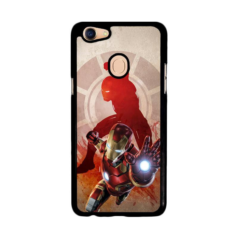 Flazzstore Marvels Iron Man Pose Z2891 Custom Casing for Oppo F5