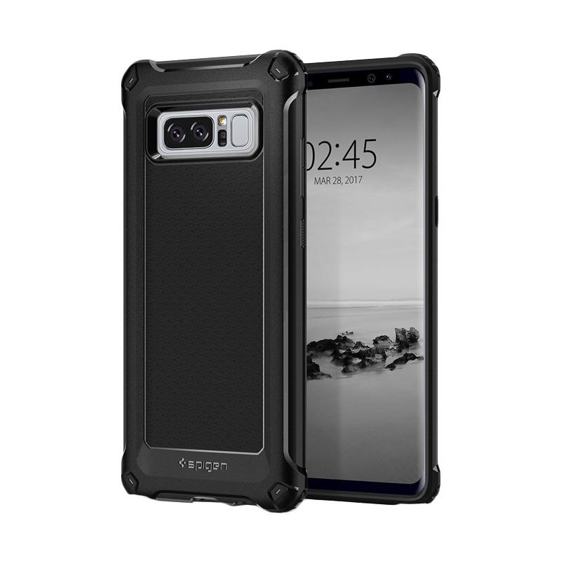 Spigen Rugged Armor Extra Softcase Casing for Samsung Note 8 - Black