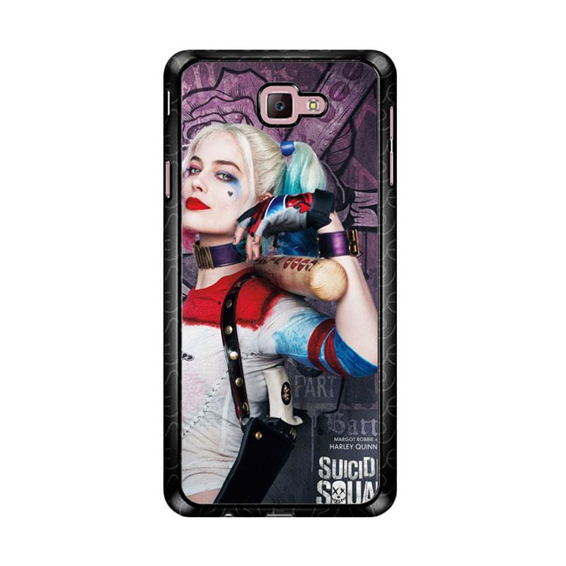 Flazzstore Harley Quinn Suicide Squad Z5188 Custom Casing for Samsung Galaxy J7 Prime