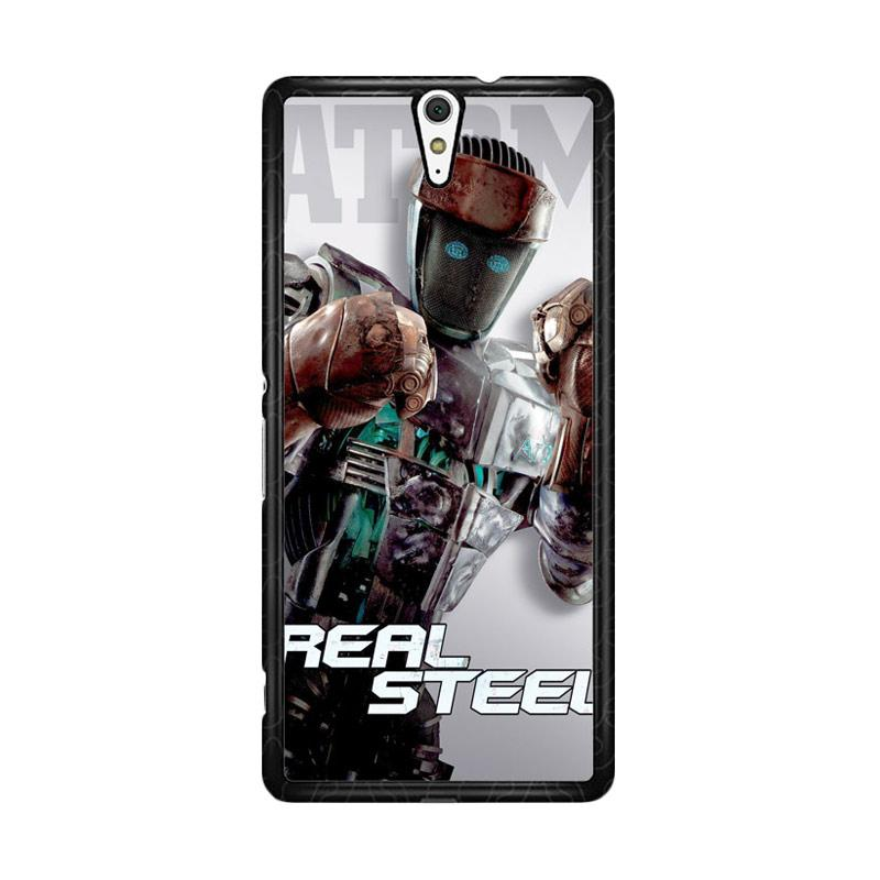 Flazzstore Atom Real Steel Z0717 Custom Casing for Sony Xperia C5 Ultra