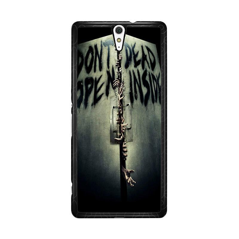 Flazzstore Open Dead Inside Zombie Z0146 Custom Casing for Sony Xperia C5 Ultra