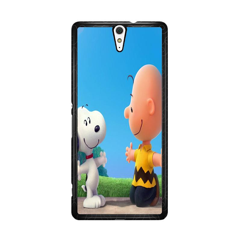 Flazzstore Peanuts Movie Z0850 Custom Casing for Sony Xperia C5 Ultra