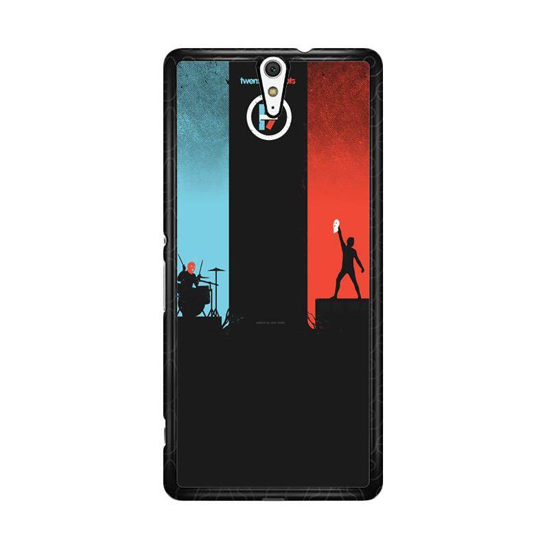 Flazzstore Twenty One Pilots Red And Blue Z0984 Custom Casing for Sony Xperia C5 Ultra